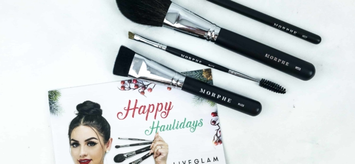 MorpheMe Brush Club December 2018 Subscription Box Review + Free Brush Coupon!