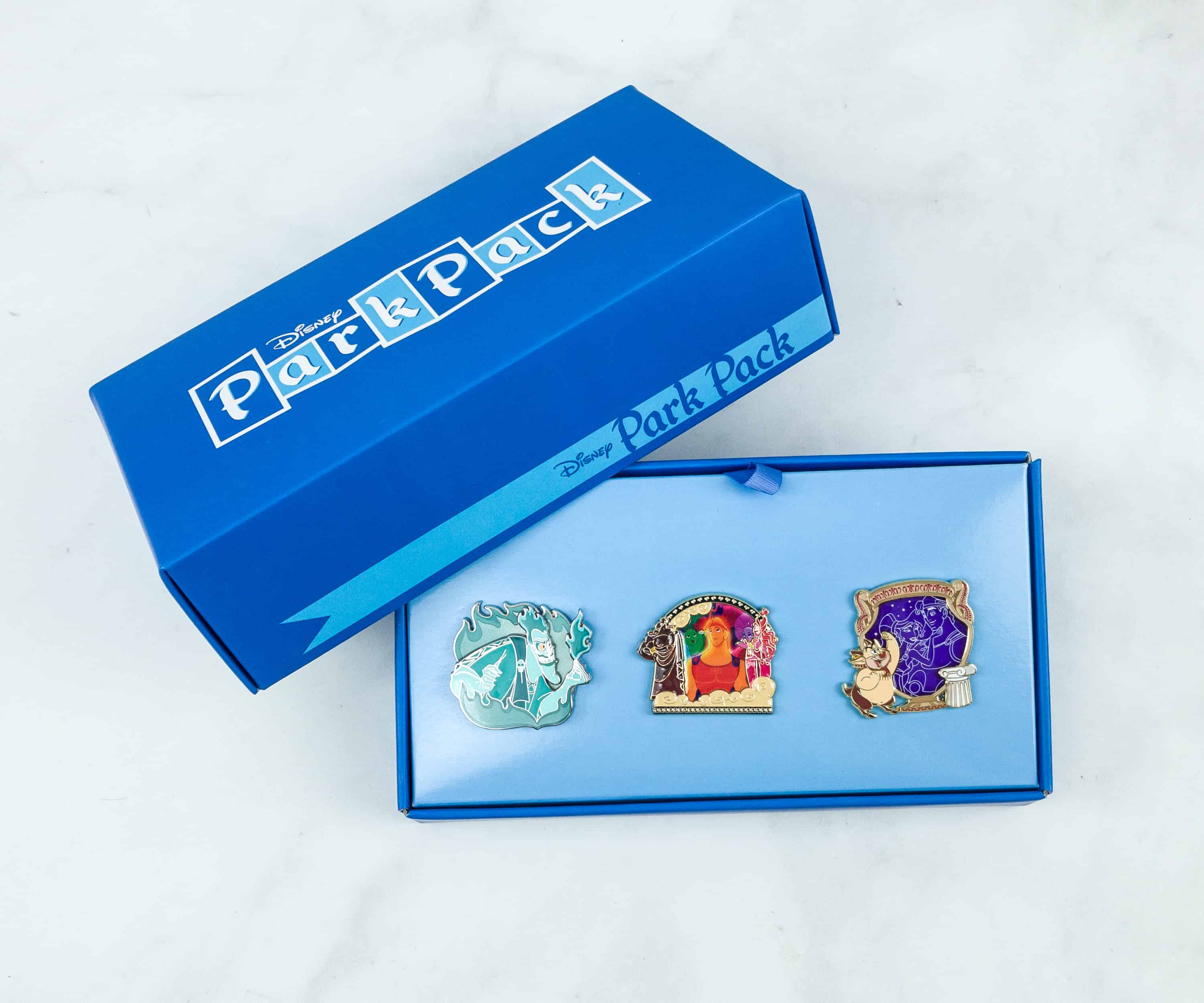 Disney Park Pack Pin Edition 3.0 November 2018 Subscription Box Review