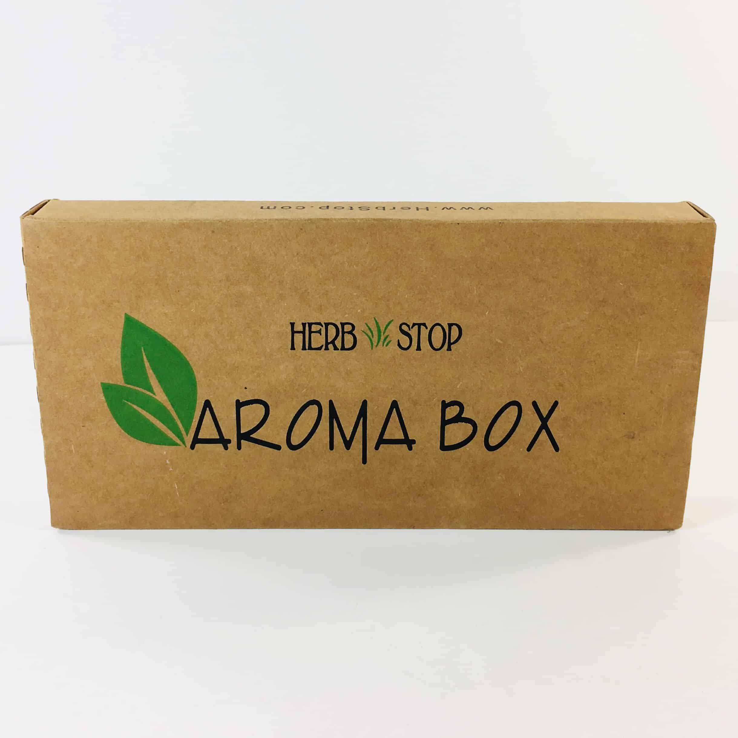 Herb Stop AromaBox Subscription Review & Coupon – November 2018
