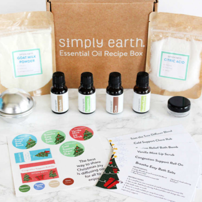 Simply Earth Holiday Deal: Get Free Diffuser Bracelet When You Subscribe!