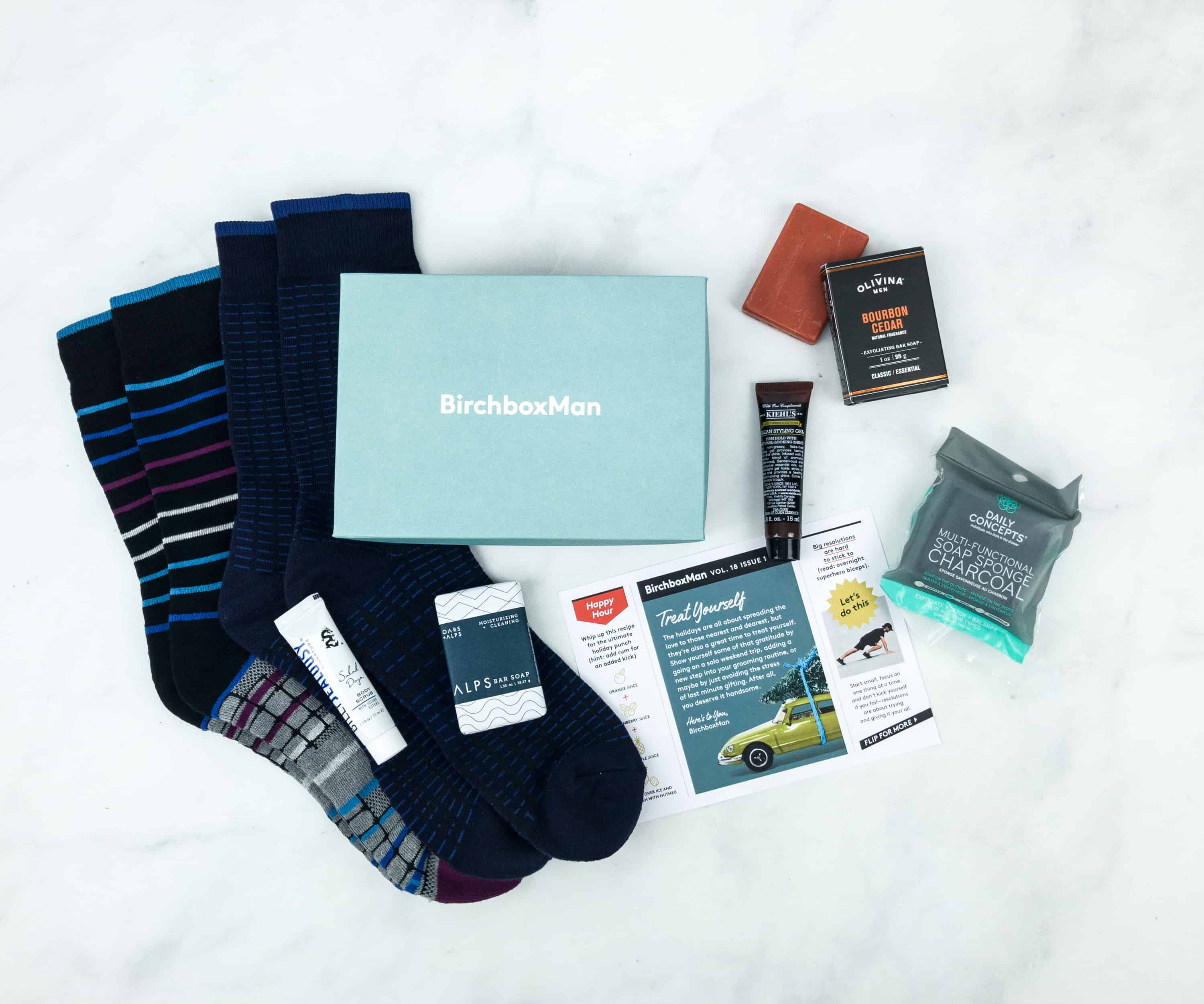 Birchbox Man December 2018 Subscription Box Review & Coupon