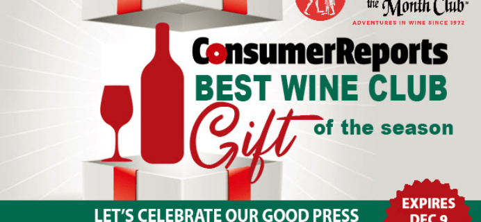 The Original and Only Wine of the Month Club Holiday Sale: Get Up To 4 Extra Wines FREE!