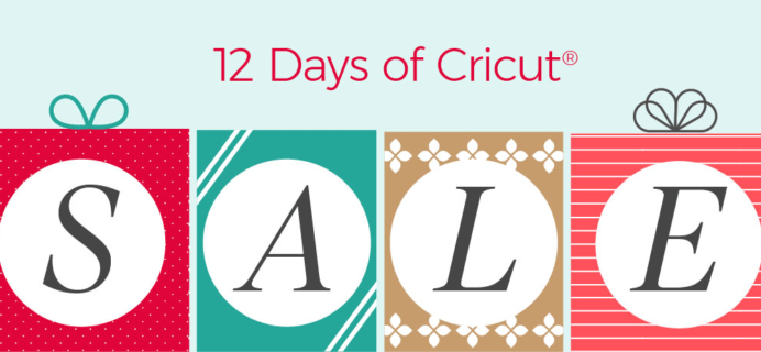 Cricut 12 Days of Cricut Sale: Get Up To 40% Off On Materials & More!