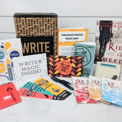 Scribbler November 2018 Subscription Box Review