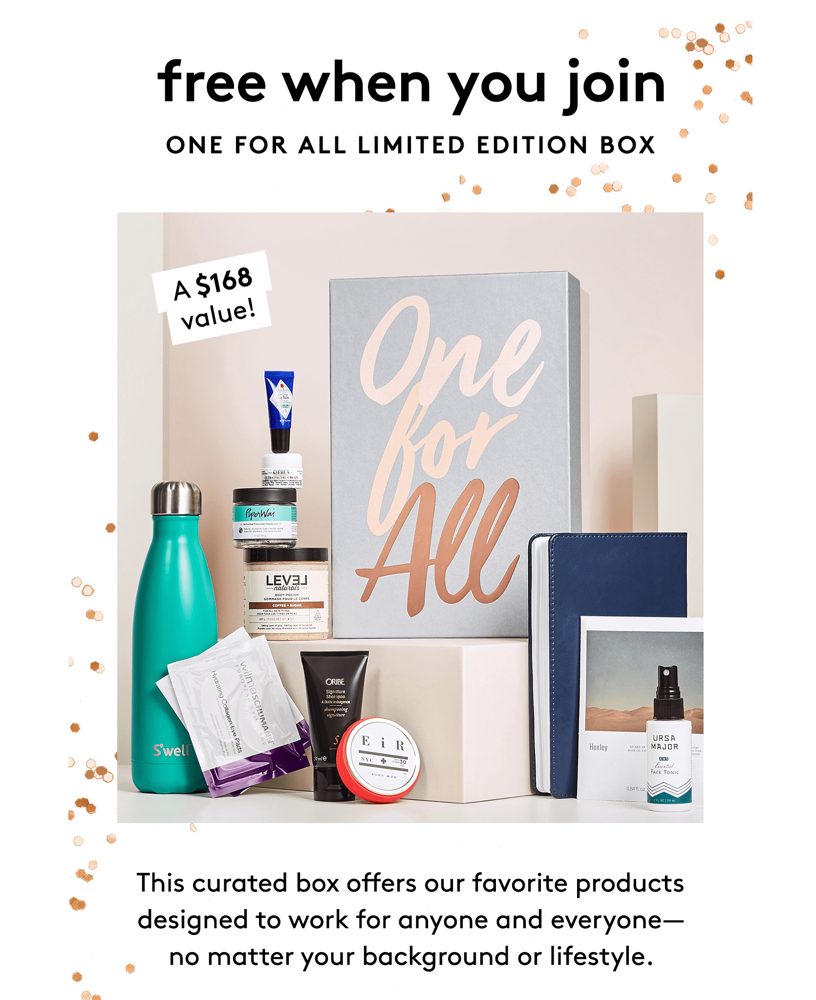 Birchbox Coupon: FREE Limited Edition One For All Box with 12 Month Subscription!