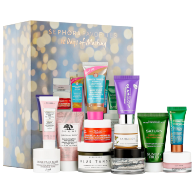 New Sephora Favorites Kits Available Now: 12 Days of Masking + Perfume Sampler!