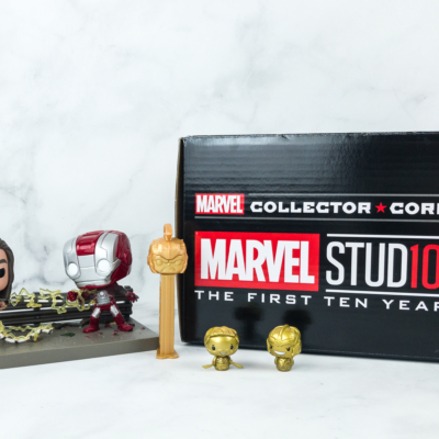 Marvel Collector Corps November 2018 Subscription Box Review – THE MARVEL STUDIOS 10