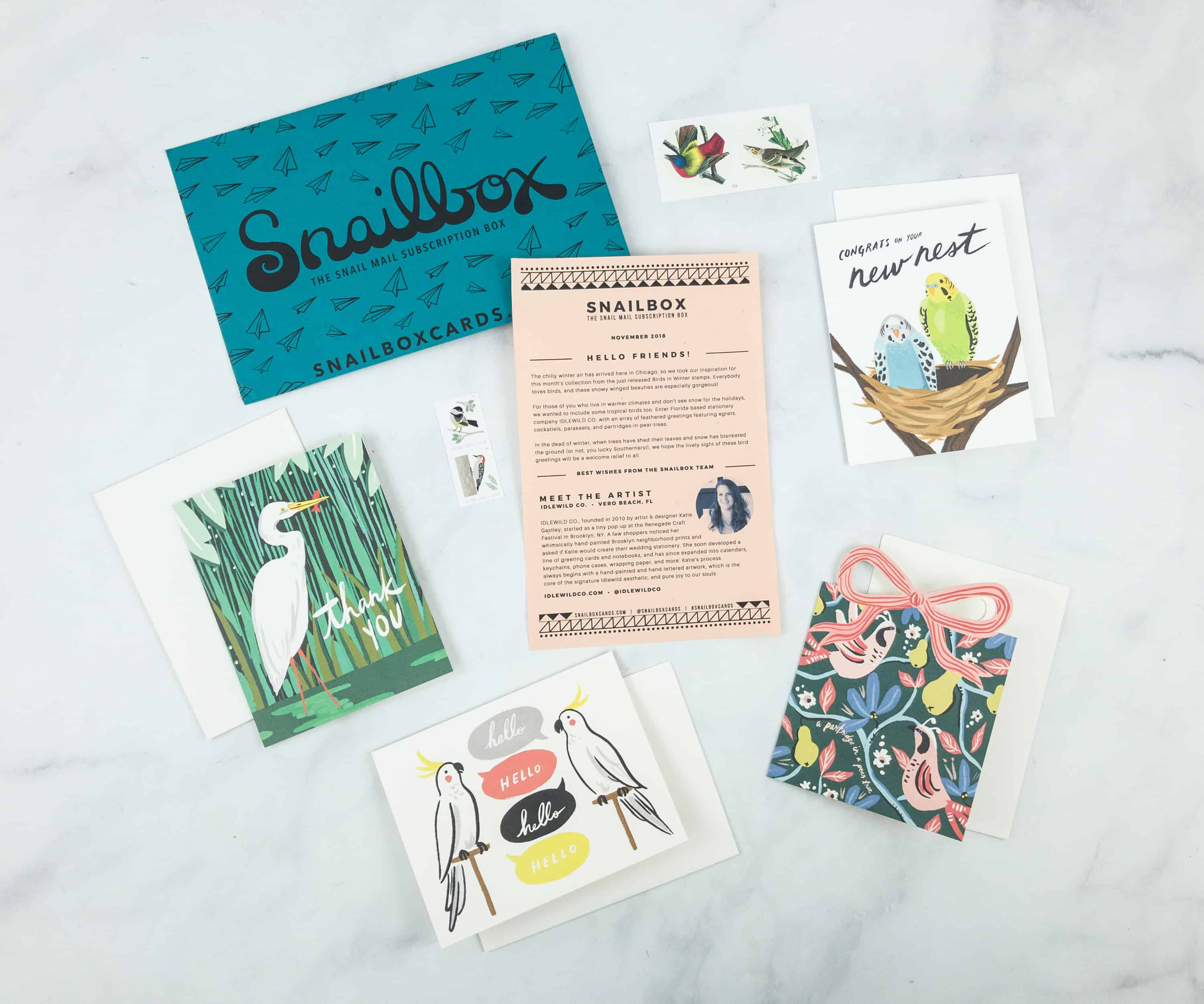 Snailbox November 2018 Subscription Box Review + Coupon