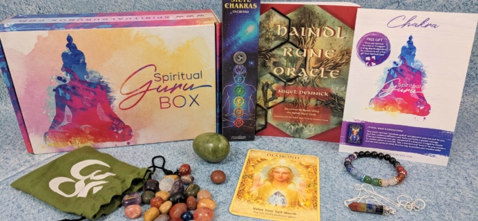 Spiritual Guru November 2018 Subscription Box Review