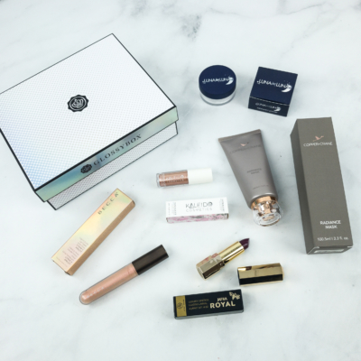 December 2018 GLOSSYBOX Subscription Box Review + Coupon