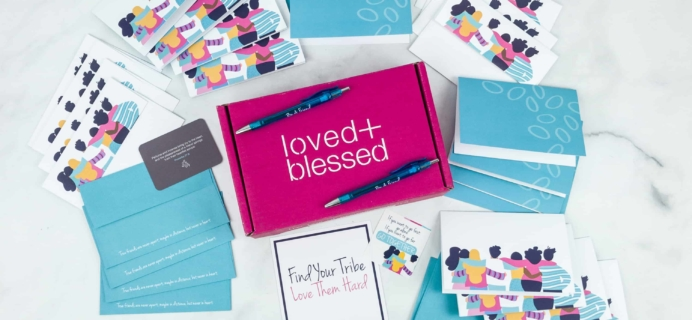 Loved+Blessed December 2018 Subscription Box Review + Coupon