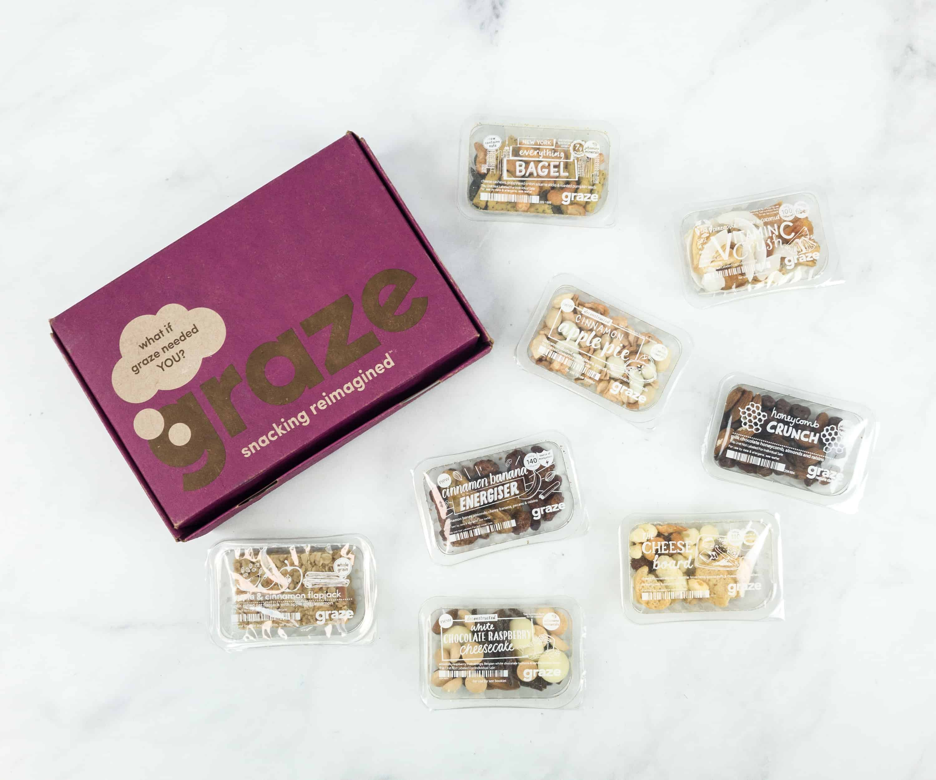 Graze Variety Box Review & Free Box Coupon – December 2018