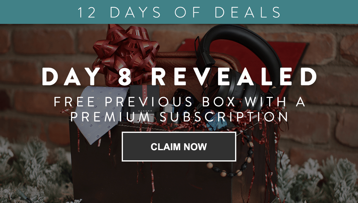 Gentleman's Box Coupon: Get Previous Classic Box FREE with Premium Subscription!