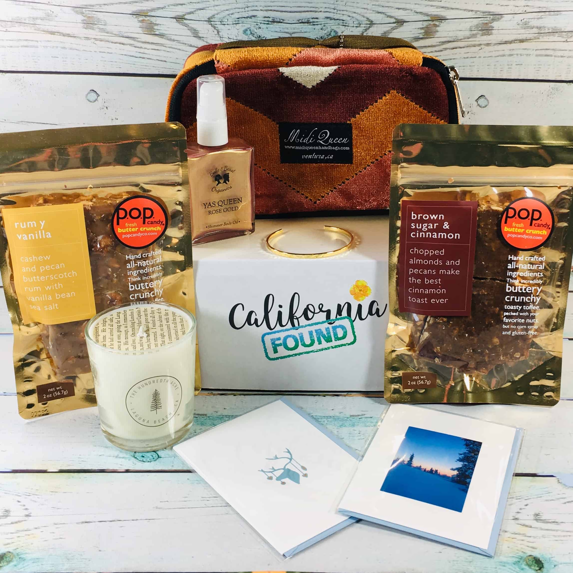 California Found November 2018 Subscription Box Review + Coupon