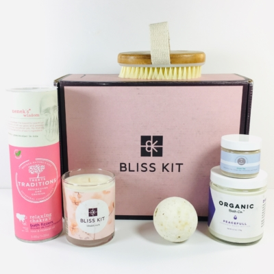 Bliss Kit Fall 2018 Subscription Box Review + Coupon