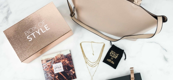 Box of Style by Rachel Zoe Select Edition 2018 Review + Coupon!