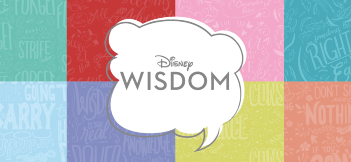 Disney Wisdom December 2019 Collection Available Now!