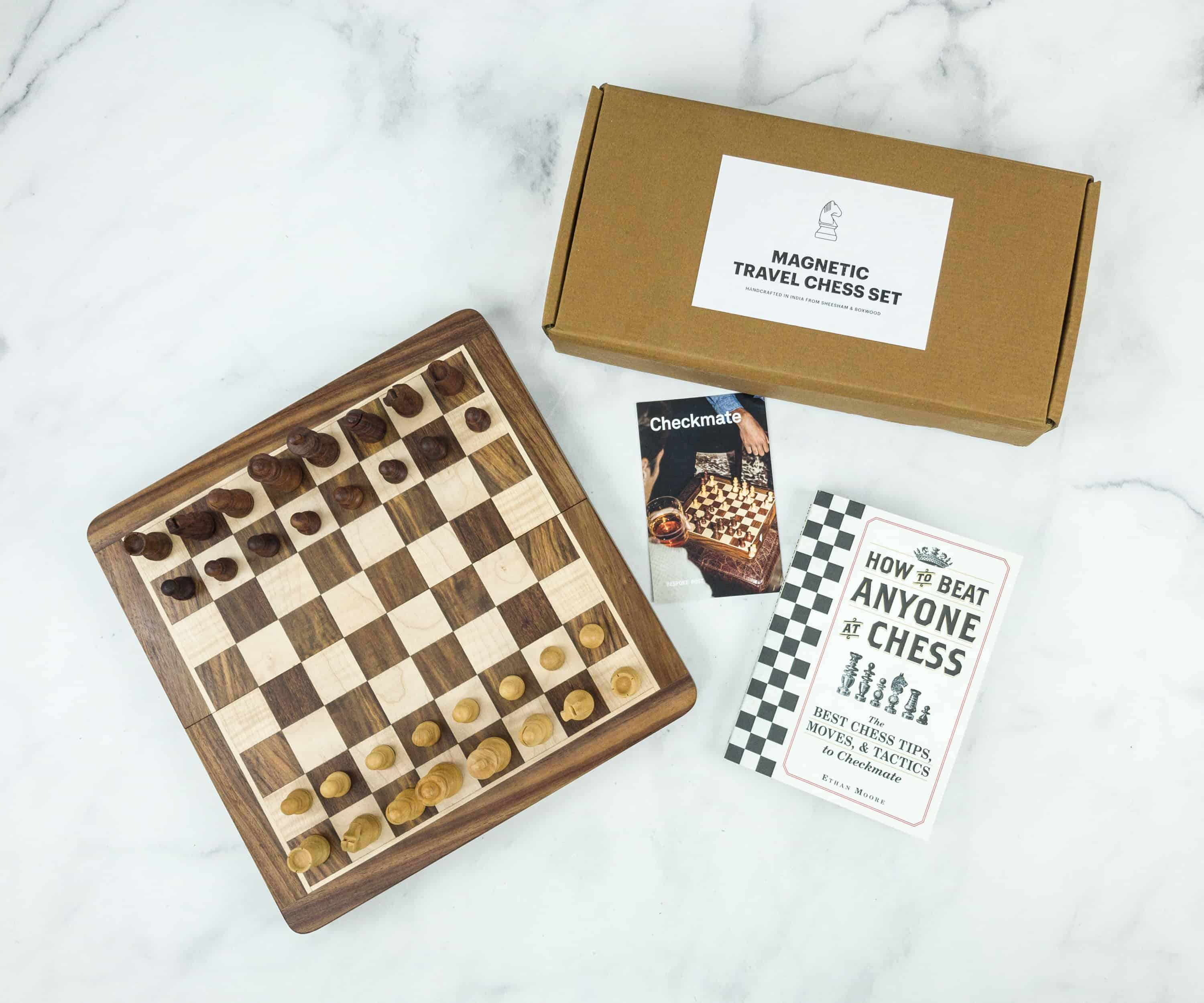 Bespoke Post CHECKMATE Box Review & Coupon – December 2018