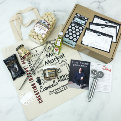 Crate Chef December-January 2019 Subscription Box Review + Coupon!