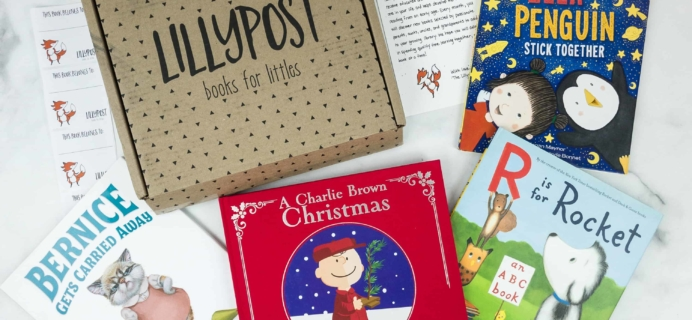 Lillypost December 2018 Board Book Subscription Box Review – PICTURE BOOKS