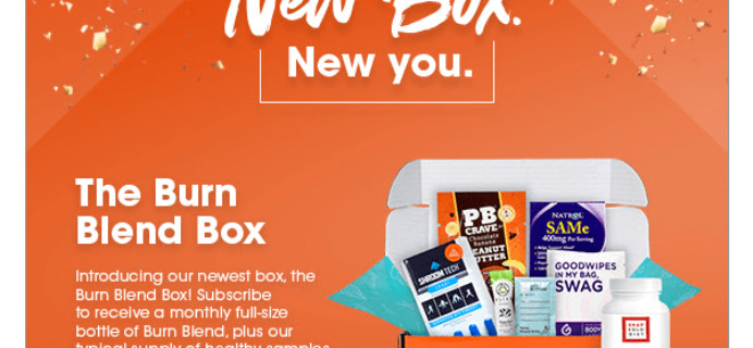 New Subscription Boxes: Bulu Box The Burn Blend Box Available Now!