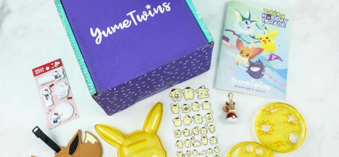 YumeTwins December 2018 Subscription Box Review + Coupon