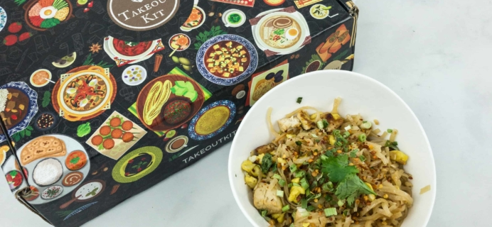 Takeout Kit December 2018 Subscription Box Review – PAD THAI