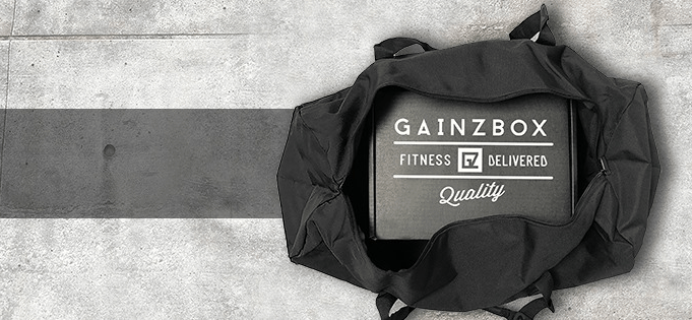 Gainz Box Coupon: FREE Box With Any Subscription!