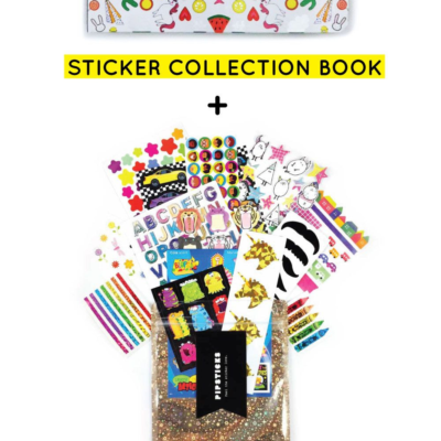 Holiday Gift Idea: Pipsticks Sticker Books and Pipsticks Gift Subscriptions!