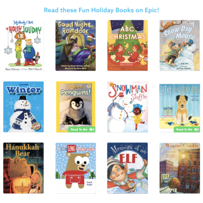 Epic! Kids Books Holiday Coupon: Get $30 Off On All Gifts!