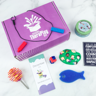 Sensory TheraPLAY Box December 2018 Subscription Box Review + Coupon