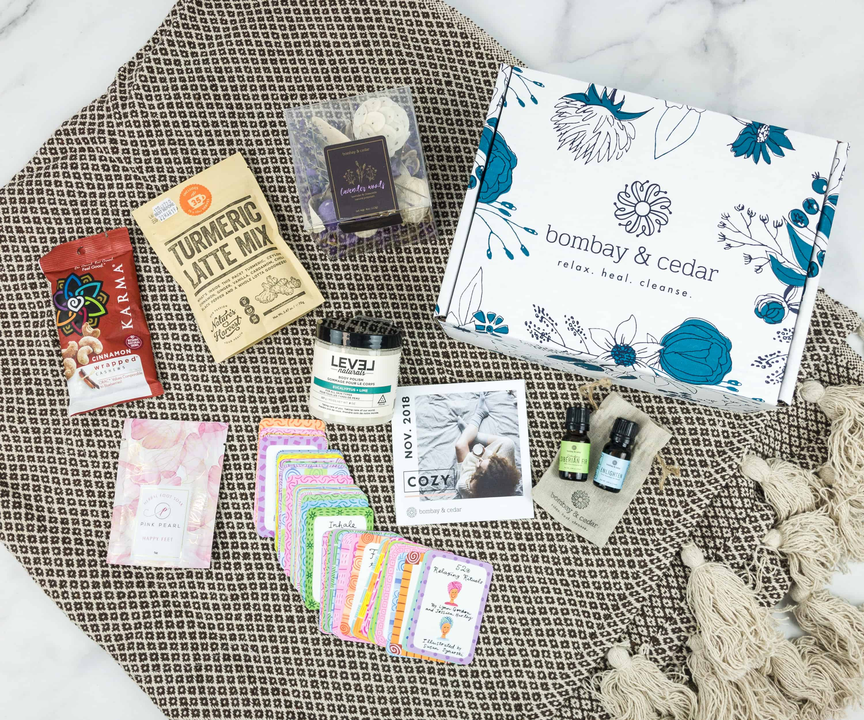 Bombay & Cedar November 2018 Subscription Box Review + Coupon