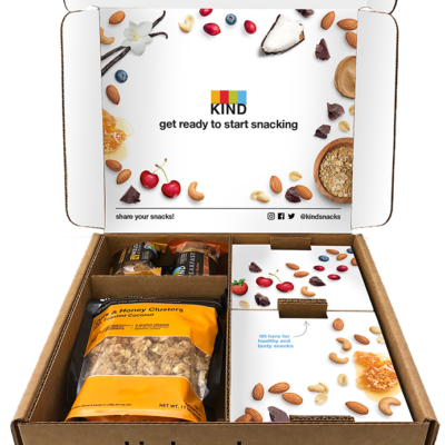 Kind Snack Club Coupon: Get 25% Off First Build Your Own Box + Free Shipping!