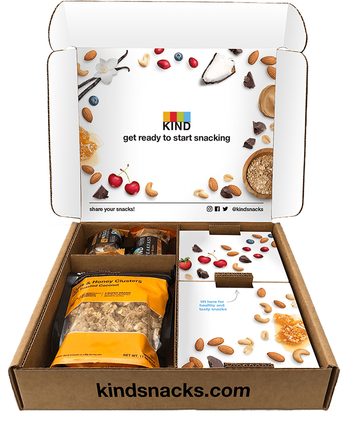 Kind Snack Club Snack Pack Coupon: Get $20 Off + Free Shipping!