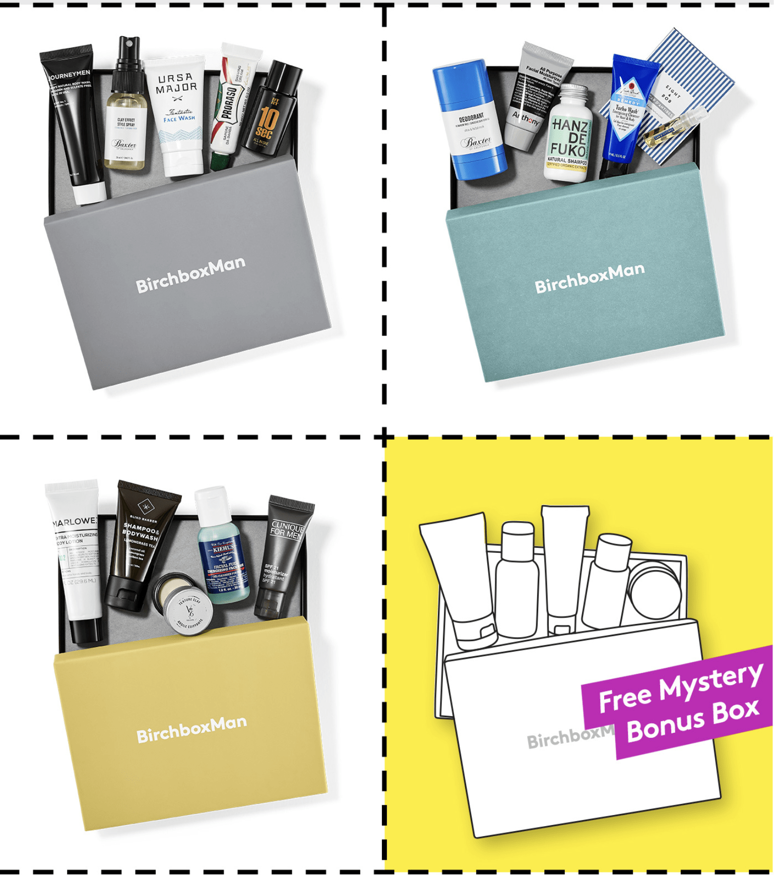 Birchbox Man Coupon: Free Extra Box with 3-Month Subscription!
