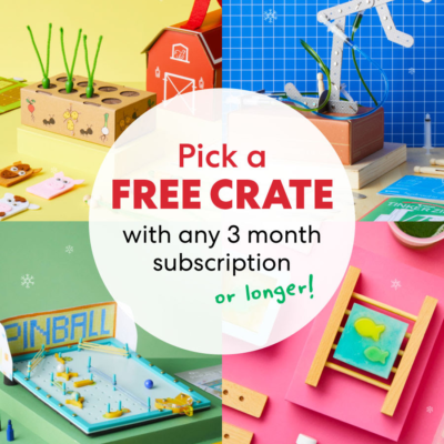 KiwiCo Holiday Coupons: Get a FREE CRATE!