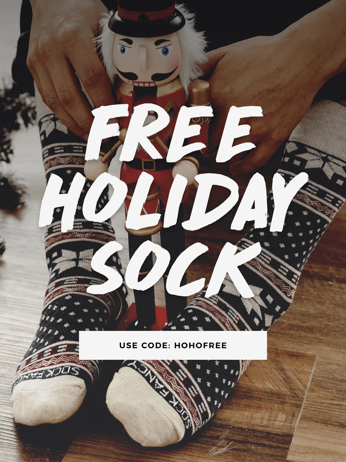 Sock Fancy Coupon:  FREE Nordic Socks!