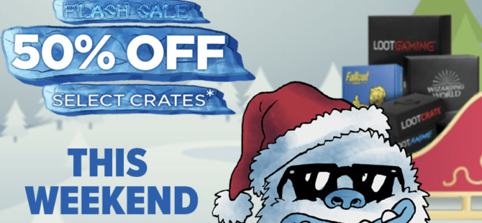 Loot Crate Flash Sale: Get 50% Off On Select Crates! LAST DAY!