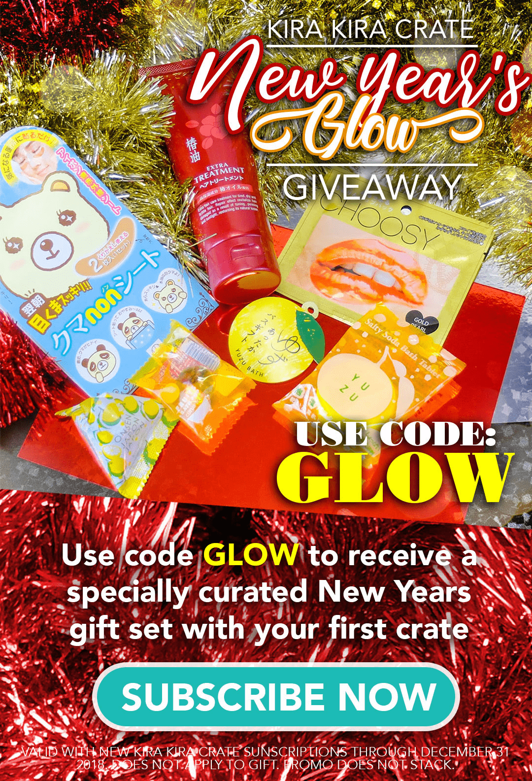 Kira Kira Crate Coupon: Get a 4-Piece Beauty Bundle With Your January 2019 Box!