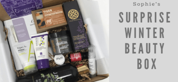 Sophie Uliano Surprise Winter Beauty Box Available Now + Full Spoilers!