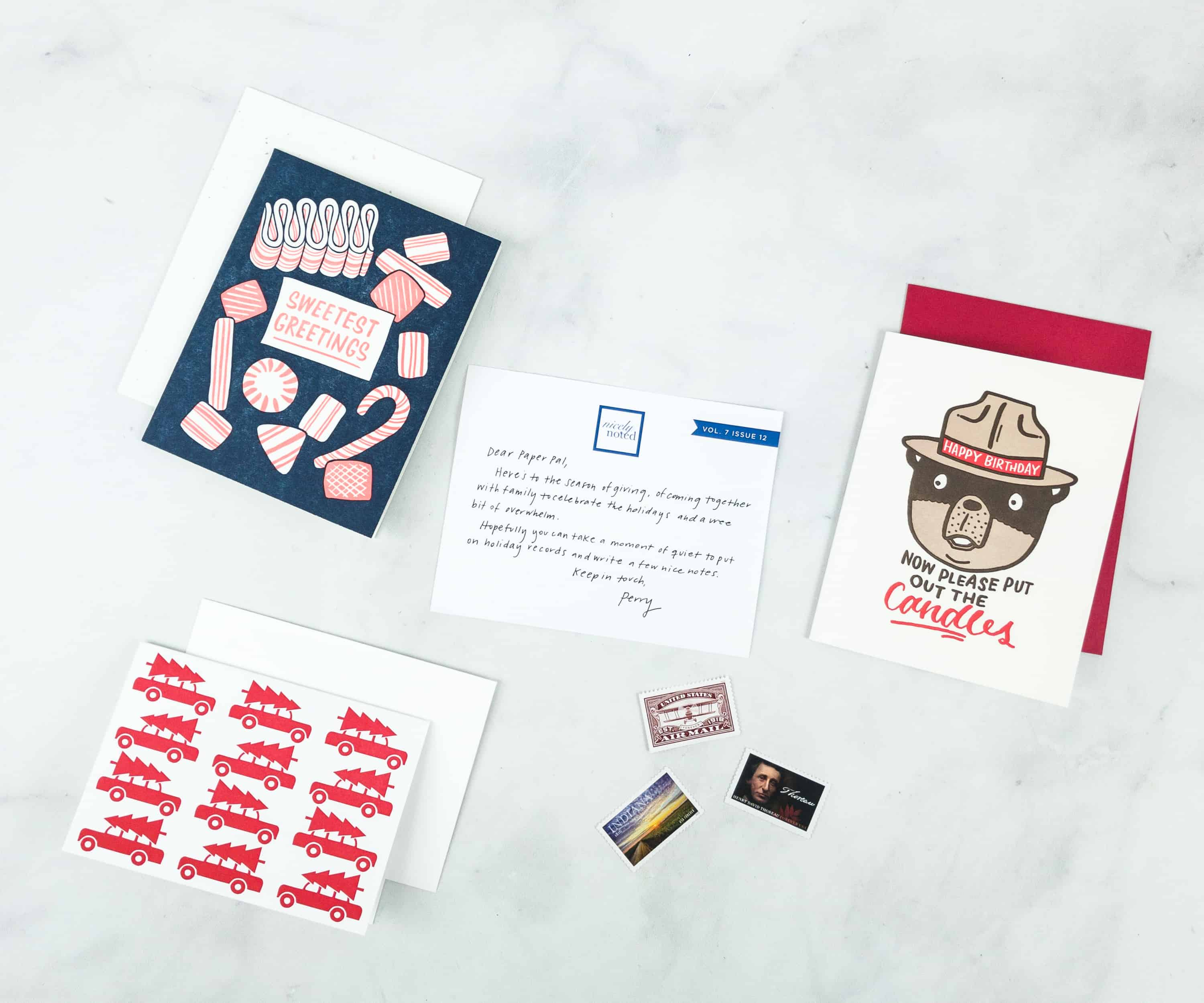 Nicely Noted December 2018 Subscription Box Review + Coupon!