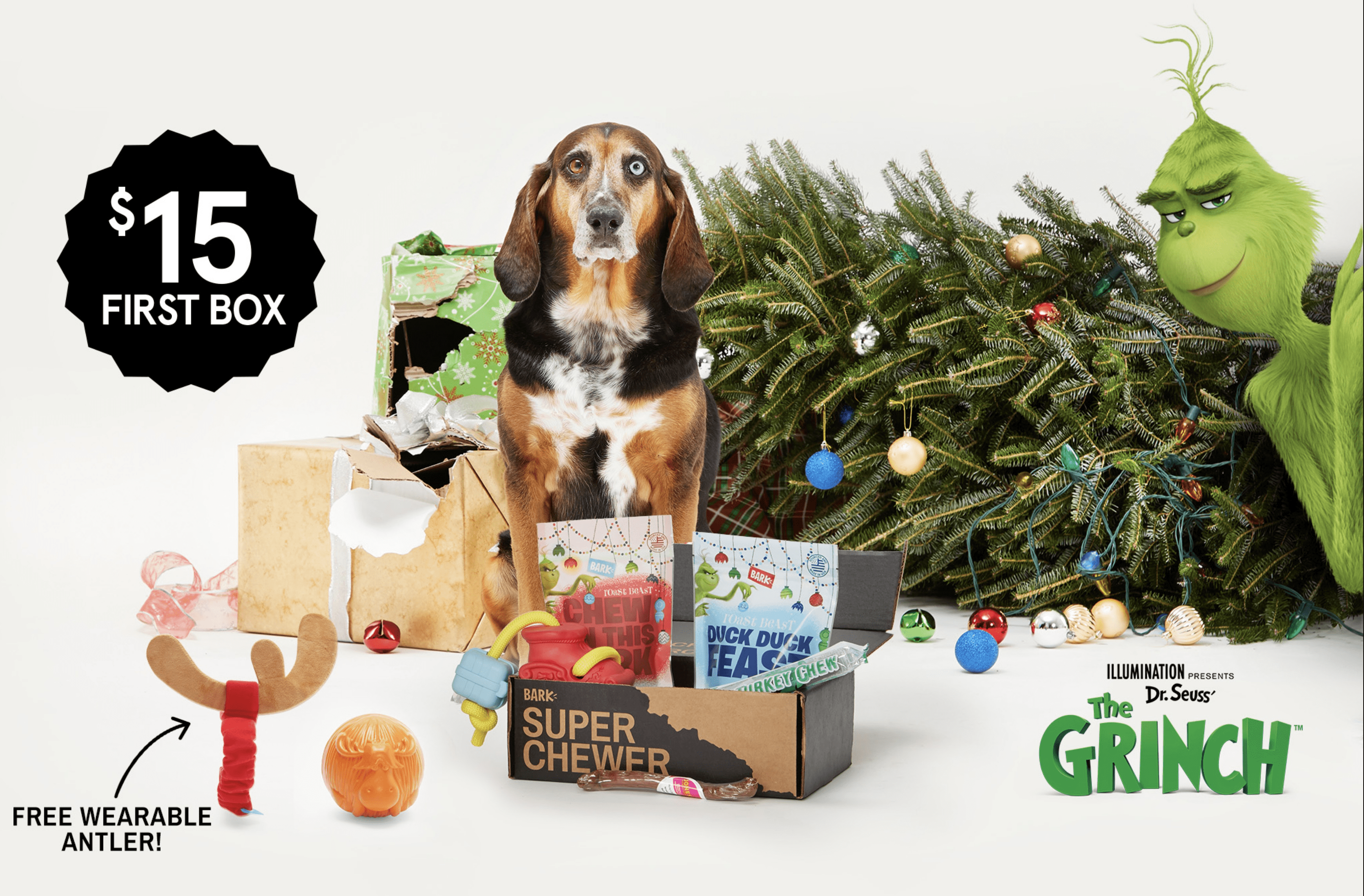 EXTENDED! BarkBox Super Chewer Coupon: Get 50% Off Your First Month  + FREE Guaranteed Shipping!