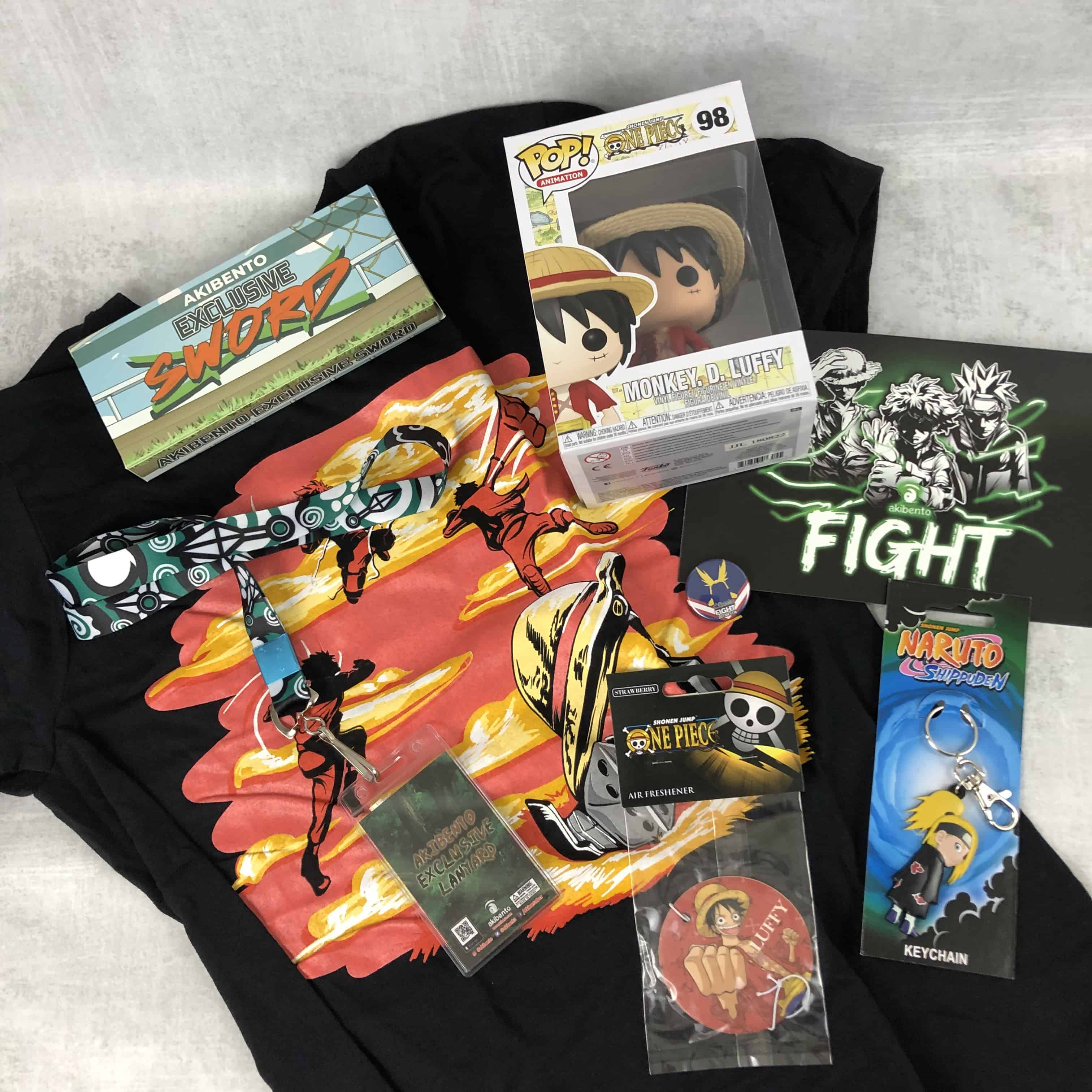 Akibento November 2018 Subscription Box Review & Coupon – FIGHT