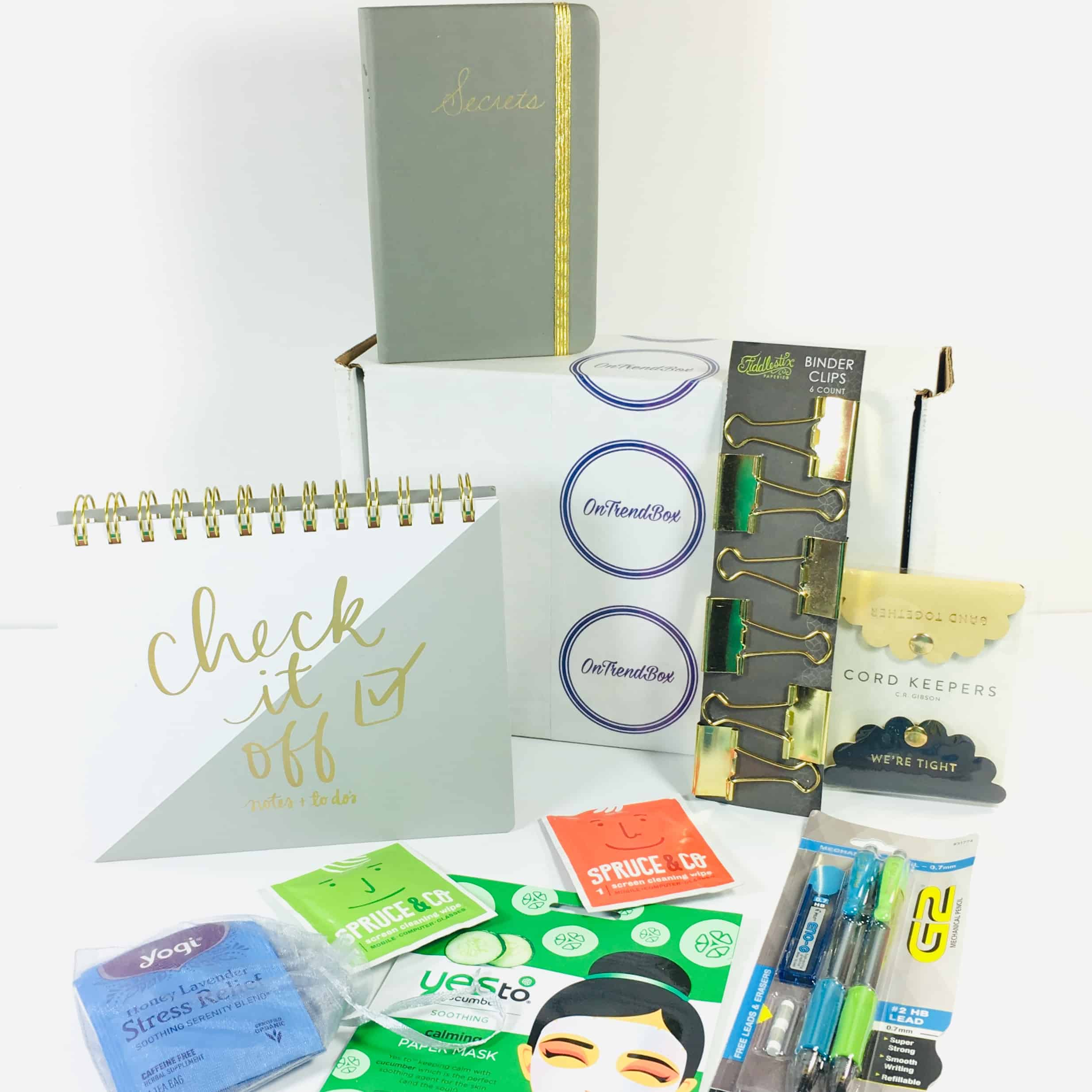 OnTrend Box December 2018 Subscription Box Review + Coupon