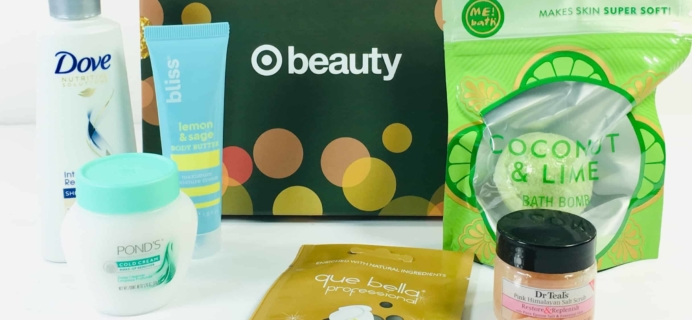Target Beauty Box Review December 2018 – HELLO GLOW