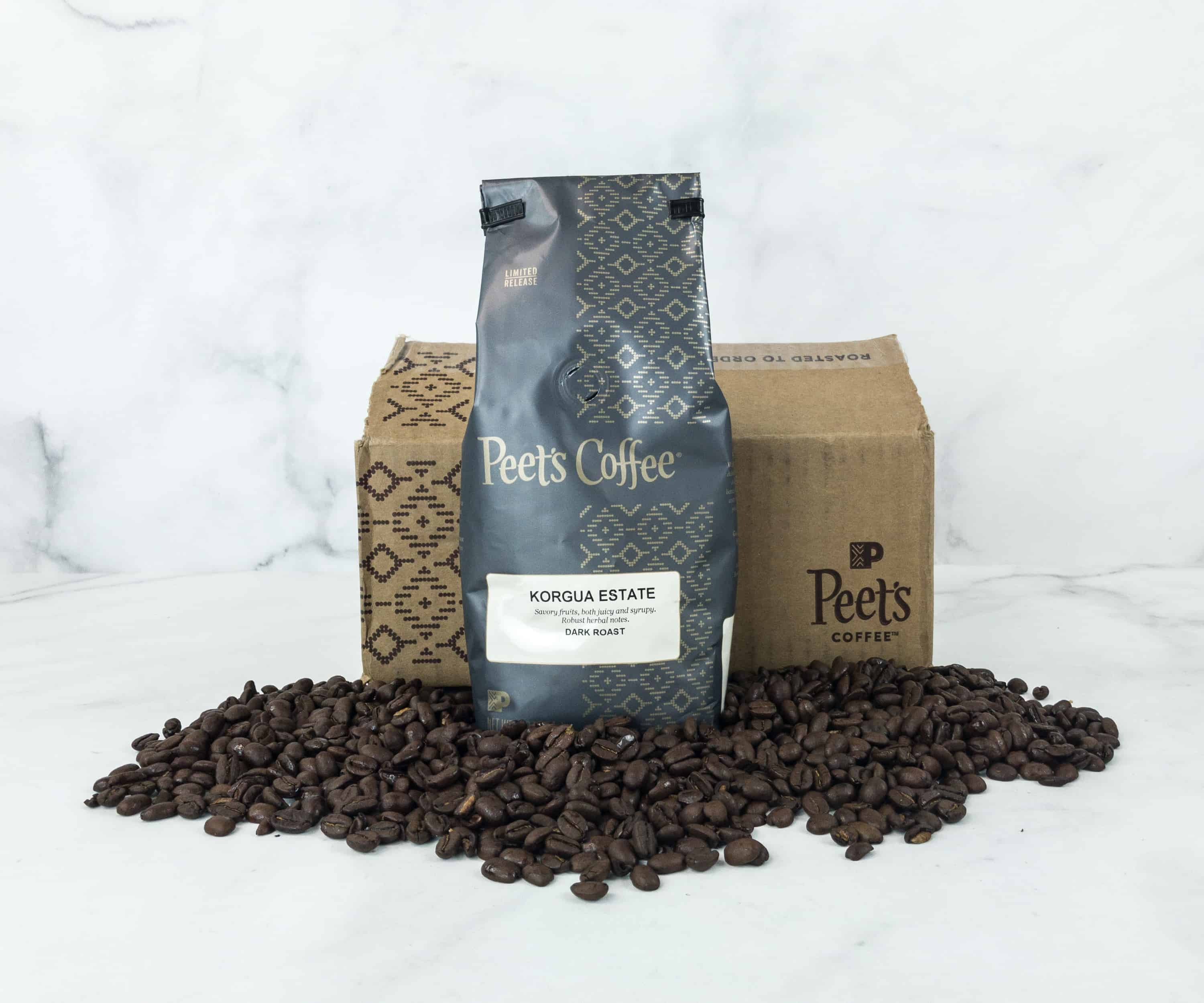Peet's Coffee Explorer Series December 2018 Subscription Box Review