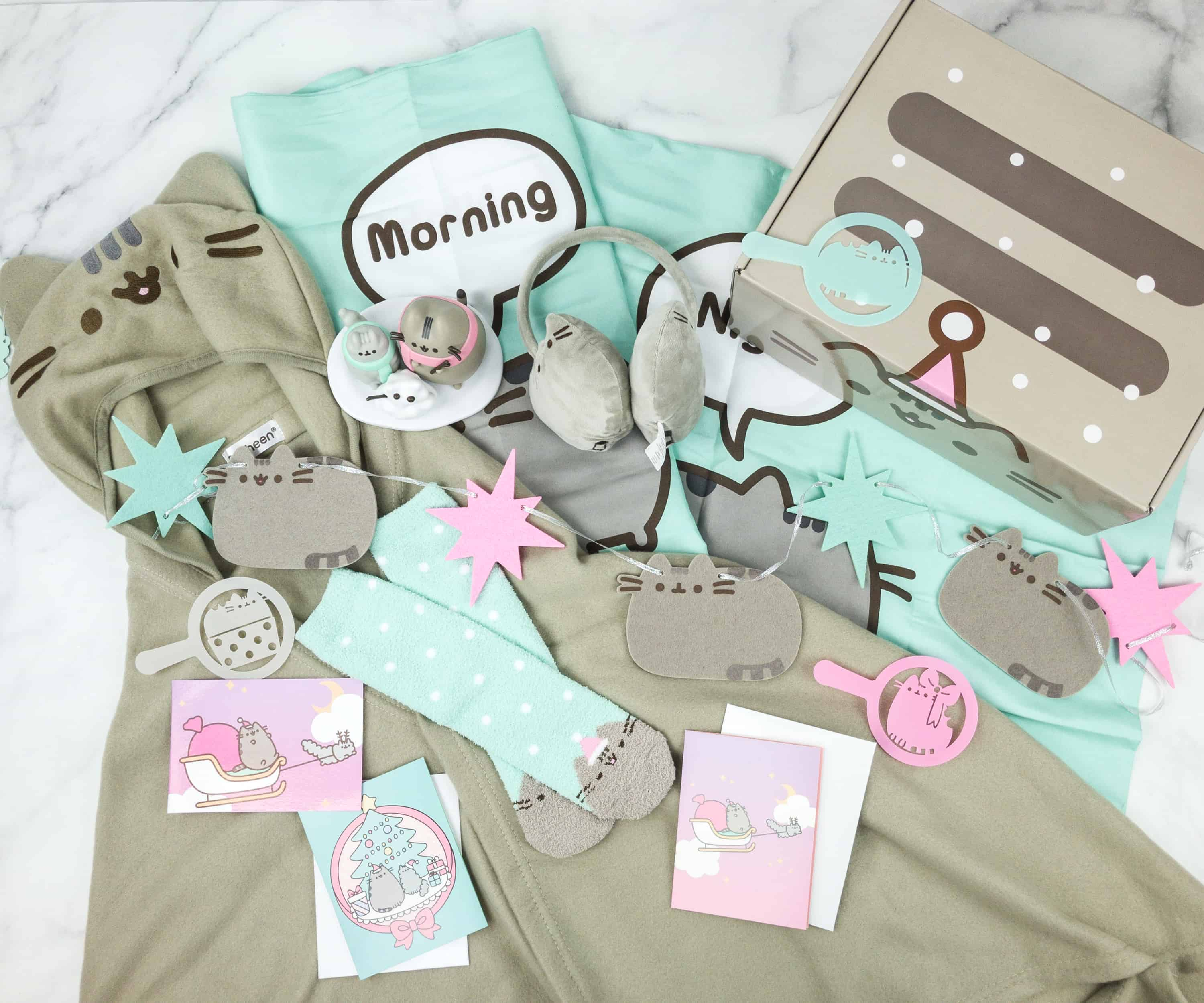 Pusheen Box Winter 2018 Subscription Box Review