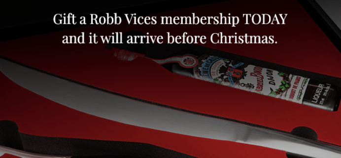 Robb Vices Flash Deal: $60 Off 3+ Month Subscriptions!