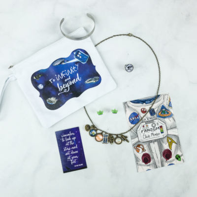 Fandom of the Month Club April 2018 Subscription Box Review