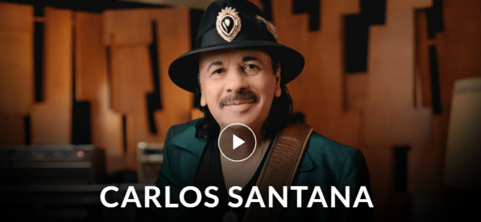 MasterClass Carlos Santana and James Suckling Classes Available Now!